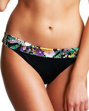 Freya Swim Bikini Fold Brief Bottoms Adelphi 3456 Black Select Size New