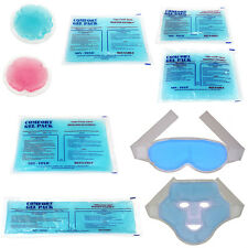 Reusable Flexible Comfort Gel Ice Pack Hot/Cold Non Toxic - Choose Size