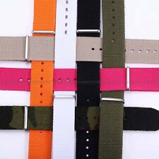 New Colorful KS 20mm Military Men Fashion Nylon Sport Watch Band Straps
