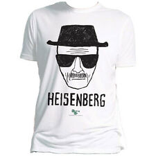 AMC Official Breaking Bad Mens Heisenberg T-Shirt Televsion Geek Walter White