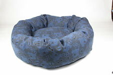 Dog Bed,, Heavy Duty, Electric Blue, Large, Med , Extra Large, Dog Tired Design
