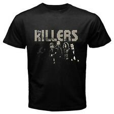New THE KILLERS Rock Band Personels Men's Black T-Shirt Size S M L XL 2XL 3XL