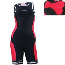 New Womens 3D Padded Bike Bicycle Cycling Racing Tri Suit Triathlon Short Pants
