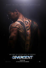 DIVERGENT MOVIE ART POSTER A4 / A3 DG02- BUY 2 GET 1 FREE!
