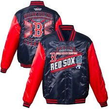 Boston Red Sox 2013 MLB World Series Champions Satin Jacket