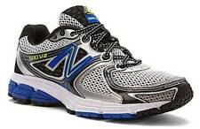 NEW BALANCE Men's Breathable Cross Trainer Sneakers in Silver Blue, Medium & XW