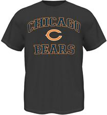 Chicago Bears Majestic NFL Heart & Soul III Charcoal Men's T-Shirt