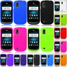 Rubber Protector Silicone Cover Case for ZTE Prelude Z993 / Avail 2 Z992