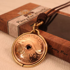 NEW Australian Penny Fox Whistle - Unique Coin Gift - Handcrafted in Australia.