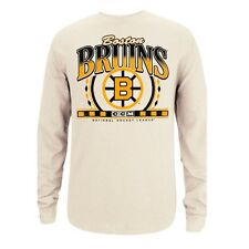 Boston Bruins Adidas Originals Long Sleeve Thermal Ivory Men's SZ (S-2XL)
