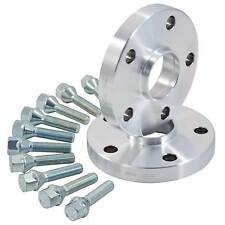 Hub Centric (Hubcentric) Peugeot / Pug Alloy Wheel Spacer Kit With Longer Bolts