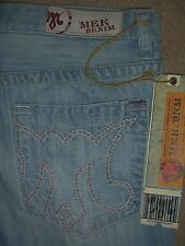 MEK DENIM Carlson Straight Button Fly Jeans Mens Sizes 32 33 34 36 38 New $139