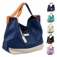 New Women Ladies Shoulder Bag Faux Leather Satchel CrossBody Tote Handbags