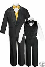 New Boys Satin Shawl Lapel Suits Tuxedos EXTRA Bow Tie Tuxedo Suit Outfits S-18