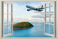 3D VIEW SEA Window View Removable Wall Sticker Decal home art decor mural