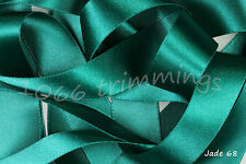 Jade 68 Satin Ribbon Double Sided Berisfords Choice Widths & Lengths  3501