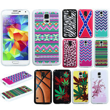For SAMSUNG GALAXY S5 i9600 G900 Accessory SILICONE Skin Soft Case Cover Zig Zag