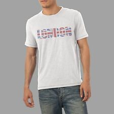 Men's Union Jack London Rhinestone Diamante T Shirt