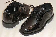 Toddler After Six A6648B Tuxedo Formal Dress Shoes Black Patent ~ Weddings