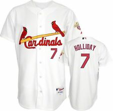 2012 Matt Holliday AUTHENTIC St. Louis Cardinals CHAMPS Home Jersey (40-52)