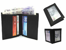 Real Leather Oyster Credit Card Wallet Holder Slim Mini Travel Business Money