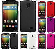 NEW PROTEX RUBBERIZED HARD CASE SHELL COVER FOR VERIZON LG LUCID-3 VS876 PHONE