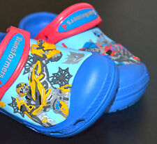 New CROC Children Water Shoes Clogs Size 6-7 8-9 10-11 12-13 Snow White