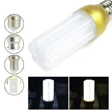E27 E14 G24 B22 5W 72 LED 3014 SMD Warm Cool white Light PL Bulb Lamp w/ Cover