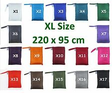 TREKSILK EXTRA  LARGE Single Silk Liner Bag Sleeping Hostel Sheet Outback Camp