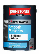 Johnstones Stormshield Smooth Masonry Paint