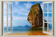 Wall window 3d Sea Decal Sticker Ocean Art Room Mural Vinyl Stickers Decal KIDS