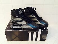 New Mens ADIDAS Malice 2D Football Cleats Black Sz. 10 11 G48169