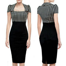 2014 Women Summer New Arrival Puff Plaid Bodycon Party Slim Sexy Elegant Dress