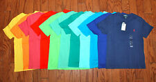 NWT Ralph Lauren Polo Solid Classic Pony Tee Boys sizes 4-7