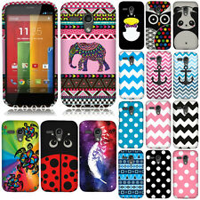 For AT&T MOTOROLA MOTO G FALCON XT1032 Case Accessory HARD Cover Protector Dots