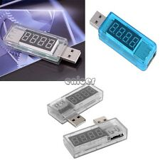 Portable USB Power Portable Mini Current and Voltage Tester Detector 3 modelo