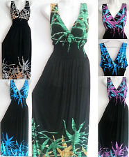 PLUS SIZE 2X 3X 4X Women Long Maxi summer beach party evening casual sundress