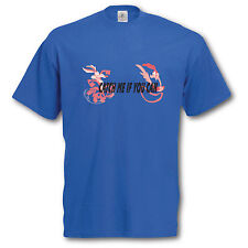 Roadrunner / Wile E Coyote T-Shirt and Keyring Giftset. Cool Retro gift Idea Tee
