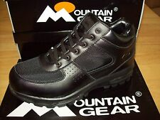 Mountain Gear Men's D-Day Mesh 2 Hiking Boots #316352-01A All Black
