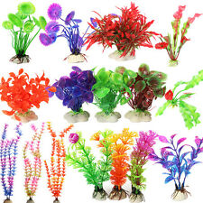 Plants Fish Tank Aquarium Plastic Landscape Underwater Ornament Grass Decoration