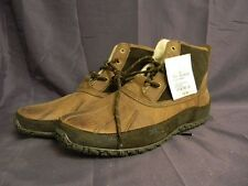 Cole Haan Air Vail Waterproof Leather Shearling Duck Winter Snow Boots-Az1