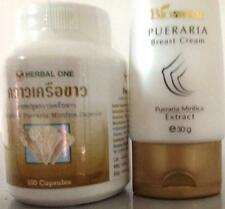LADIES INCREASE YOUR BUST SIZE WITH PUERARIA MIRIFCIA CAPSULES AND CREAM