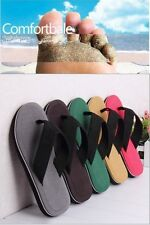 Mens` Casual Outdoor Slippers Sport Breathable Beach Flip-Flop Canvas Sandals-LJ