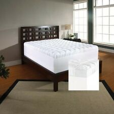Slumber Solutions 2-inch Memory Foam and 1.5-inch Fiber Mattress Topper