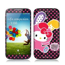 Hello Kitty Mobile Phone Body Skin Sticker Licensed 2013 -Vivid Rabbit Pink Dots