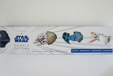 New Williams Sonoma Star Wars Cookie Cutters Vehicles Fighter Millennium Falson
