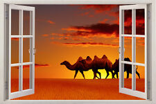 camel 3d Wall Decal Removable Sticker Decor Vinyl Art Stickers Home Nursery Huge