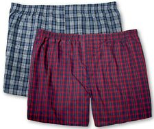 Big Men's Plaid Boxers Players Underwear 2-Pack 3XL - 8XL Assorted Colors #1132