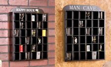 Shot Glass Display Case--Happy Hour or Man Cave or can be displayed plain