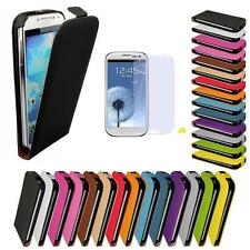 Apple iPhone 4 / 4S 5 5S Slim Flip Case PU Leder Tasche Schutz Hülle Cover Etui